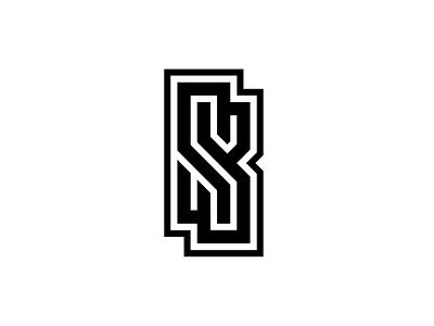 Personal Logo SB Flat graphic design branding sb rebrand concept logo