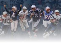 Patriots Team History Infographic