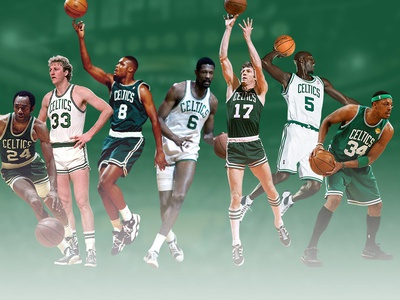 Boston Celtics Team History Infographic