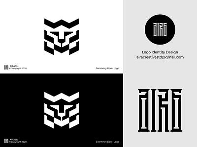 Geometry Lion animal logo geometrylogo geometry predator lionlogo lion animallogo animal flat logo for sale logo designer logo design minimalist logo minimal icon design logo logodesign