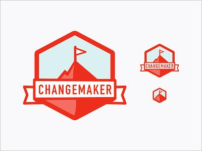 Changemaker badges badge change social change