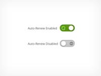 Auto-Renew Toggle