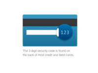 Credit Card Security Code Highlight