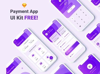 Monofin Finance App Free wallet money finance freebie ui kit product design mobile minimal interface design app