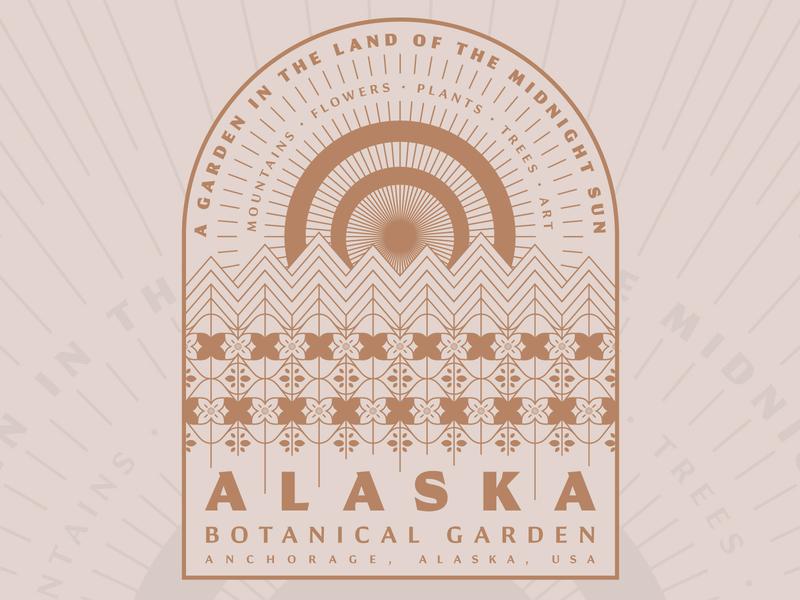 Alaska Botanical Garden (killed direction) sun alaska flowers garden