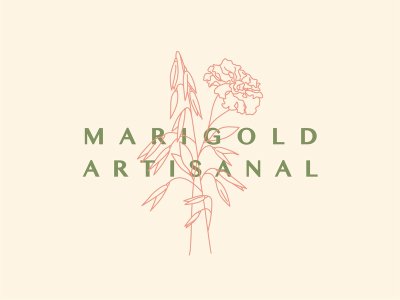 Marigold Artisanal (killed direction) artisanal natural brand flower