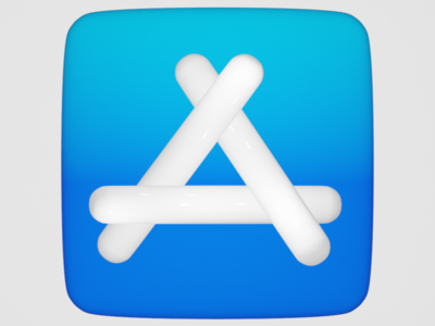 Icon icon design blender3d logo