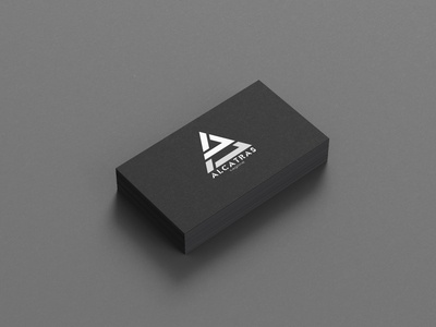 Alcatras minimal branding vector illustration company special unlimited business gaminglogo businesscard design logo
