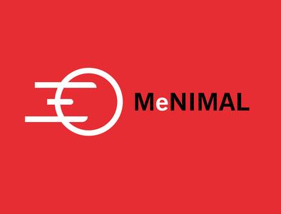 MeNIMAL vector unlimited special minimal logo illustration design company business branding