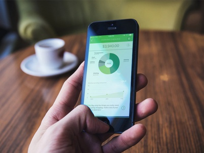 Digital Banking finance dashboard bank
