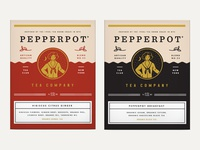 Pepperpot Tea Packaging