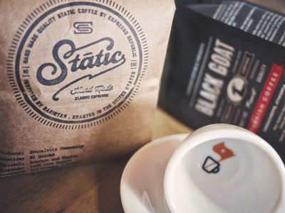 Static   black goat coffeees