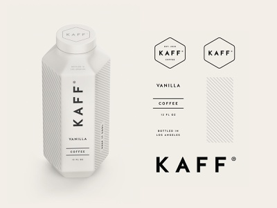 Kaff Coffee Branding & Packaging cold brew cold typography food beverage identity packaging logo branding coffee