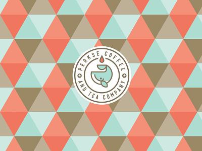 Perkse Coffee & Tea Company whale tea coffee packaging logo branding