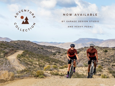 Adventure Collection Cycling Kit Design branding cycling design identity logo