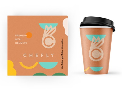 Chefly branding pt.1 design beverage identity logo branding