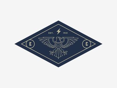 Eagle Coffee pt.V drink hot eagle coffee roasters baltimore beverage branding logo badge