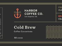 Harbor cold brew pti label