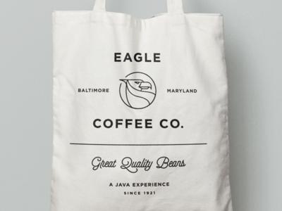 Eagle branding bag espresso identity iconography label roasters branding coffee packaging logo baltimore
