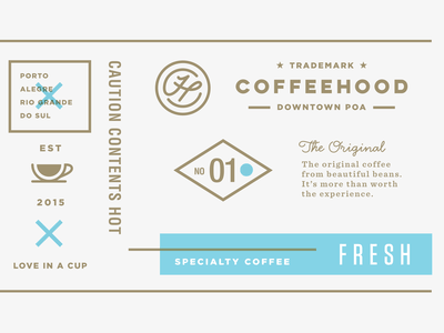 Coffeehood  Paper Cup istanbul drink cafe artisan specialty food packaging logo shop beverage coffee branding