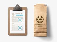 Coffeehood Menu & Bag