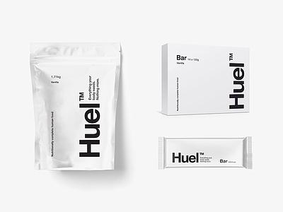 Huel Update simplicity fuel powder health future food beverage packaging branding vitamin protein