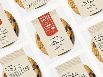 Sans Bakery pt.II nyc logo branding gluten-free vegan artisan bakery shop