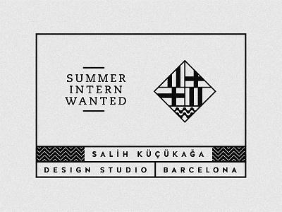 BCN Intern packagin branding design spain barcelona job intern