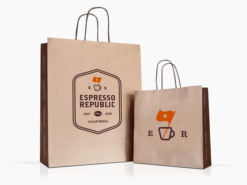 E R Paper Bags By Salih Küçükağa On Dribbble