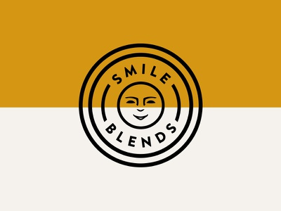 Smile Blends pt.1.1 logo branding badge spice nutritional yeast seasoning vegan gluten free