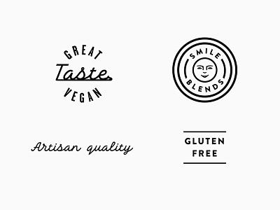 Smile Blends pt.1.2 skpackaging18 badge spice nutritional yeast seasoning vegan gluten free