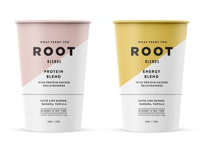 Root Blends pt.4 skpackaging18 branding cup paper packaging juice fruit smoothie
