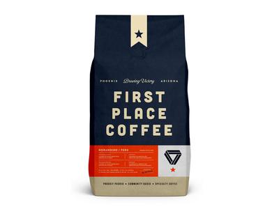 FPC Bag skpackaging18 tea shop drink typography espresso badge logo identity design arizona branding food beverage label packaging organic bag coffee