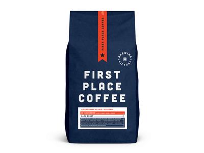 FPC Bag #2 skpackaging18 shop typography drink espresso badge identity logo design packaging organic label food coffee branding beverage bag arizona