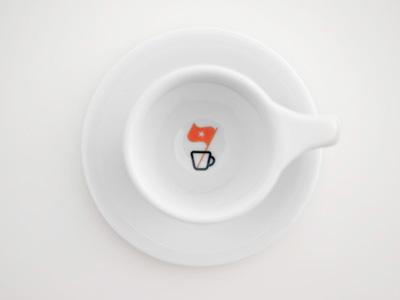 Er Cup simplicity espresso republic mug coffee flag logo food cup beverage drink cafe tea packaging identity dripp espresso republic