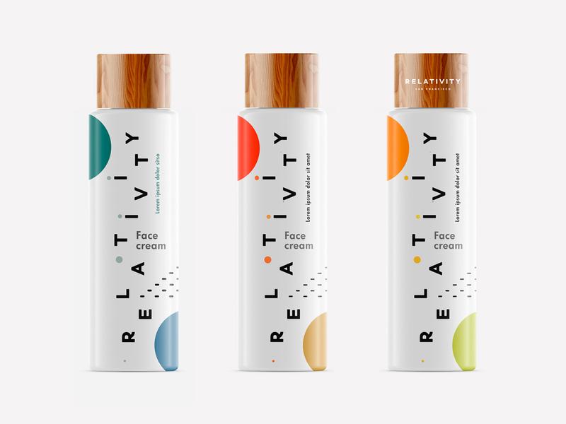Relativity skpackaging18 design identity container packaging cosmetic packaging logo design logo branding startup branding startup man cosmetic anti aging skincare