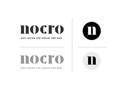 Nocro pt.1 anti-aging man men branding logo badge identity design startup san francisco skincare anti aging cosmetic typography exploration label illustration