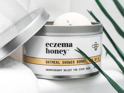 Eczema Honey Oatmeal Shower Bombs