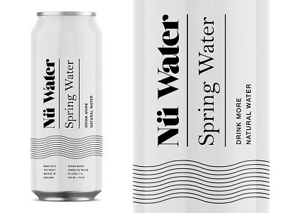 Nü Water pt.1 package design design logotype spring sparkling uk startup beverage water identity packaging logo branding