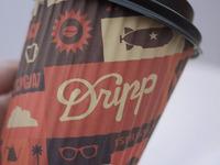 Dripp Paper Cup 12 Oz