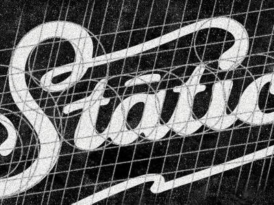 Static lettering guides