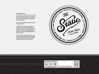 Static Espresso Bag