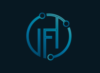 Infinite Fusion Technologies gradient logo gradient idea rebranding technology logo tech technology vector fictional logo design concept branding