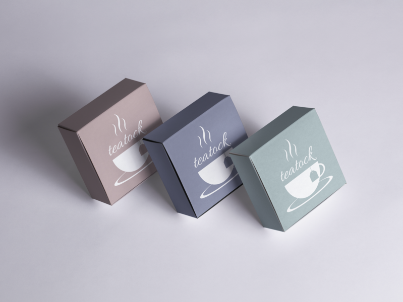 Teatock Branding company branding typography packaging design packaging vector mockup logo design concept branding