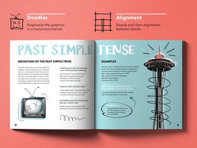 Print presentation colors doodle english halftone design illustration illustrator indesign photography photoshop presentation design