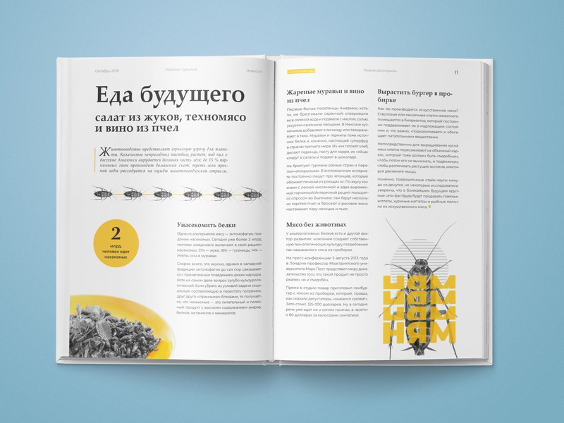 Magazine spread typography type story spread publication photoshop magazine layout indesign design