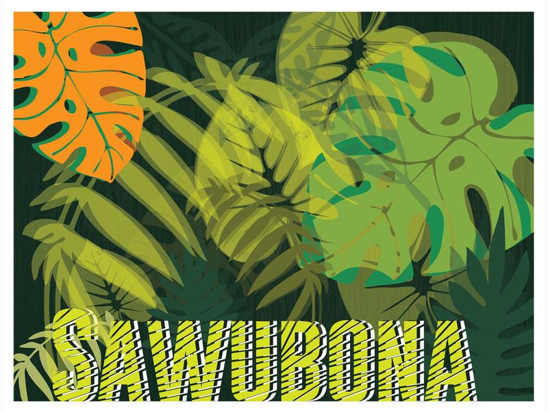 Poster greenhouse greenery social media design poster design poster a day poster art africa adobe branding adobe photoshop collaborate artwork color illustration typography design