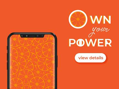 You Got This! branding poster wallpaper design wallpaper ui orange dribbleweeklywarmup dribbble dailyui