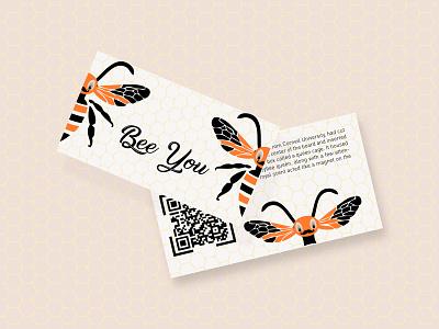 Be Who? Bee You. cards dribbbleweeklywarmup weekly challenge weeklywarmup