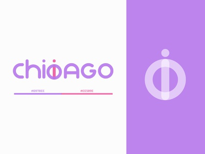 [Logo] Chicicago logotype vector illustration minimal logodesign logo branding